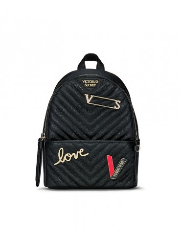 Стильный мини-рюкзачок Victoria's Secret - Pure Black