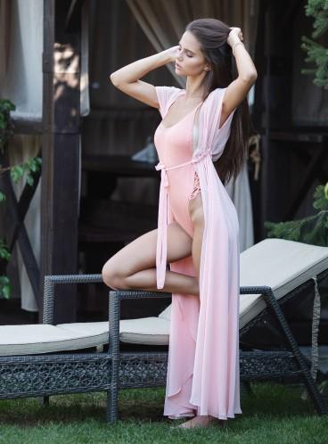 Стильный рифленный купальник-монокини Victoria's Secret PINK