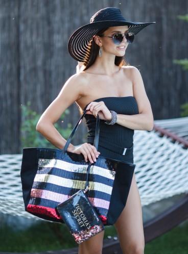 Стильная сумка + косметичка в ПОДАРОК Victoria's Secret