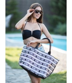 Стильная сумка с пайетками + косметичка Victoria's Secret
