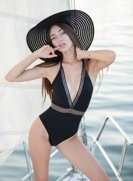 Фото Стильный купальник-монокини H&M - Black