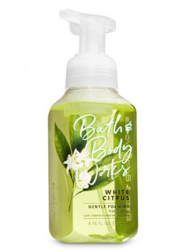 Фото Пенящееся мыло для рук Bath and Body Works - White Citrus