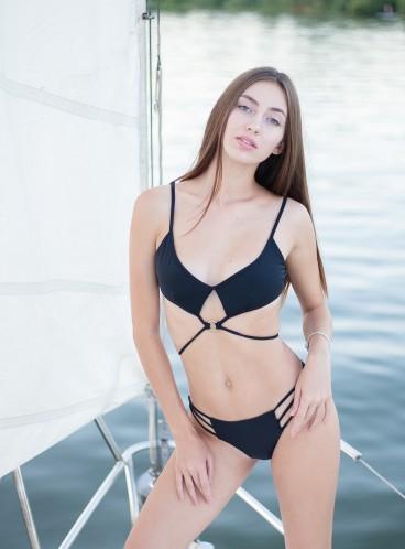 NEW! Стильный купальник Wrapped Keyhole от Victoria's Secret