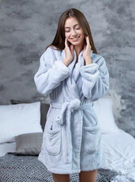 Плюшевый халат от Victoria's Secret