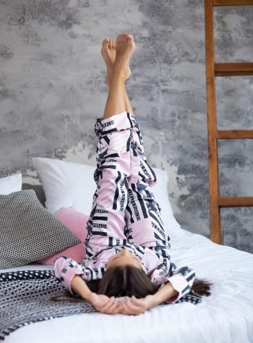 Сатиновая пижама Victoria's Secret из серии The Satin - Heritage Patchwork