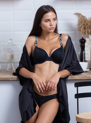 Сатиновый халат от Victoria's Secret