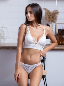 More about Бархатный комплект белья без Push-up от Victoria's Secret PINK