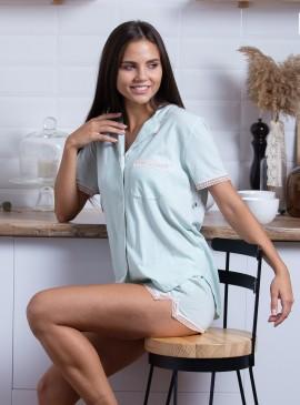 Фото Пижамка с шортиками Victoria's Secret из сериии The Sleepover - Beach Glass