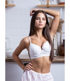Бюстгальтер Perfect Shape Bra из серии The T-Shirt Logo от Victoria's Secret - White