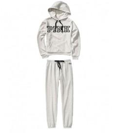 Флисовый костюм от Victoria's Secret PINK - Grey