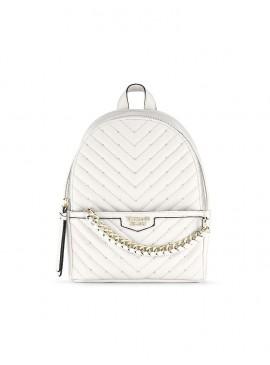 Фото Стильный мини-рюкзачок Victoria's Secret - White Gold