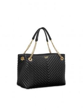 Фото Стильная сумка Pebbled V-Quilt Shoulder от Victoria's Secret