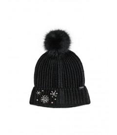 Стильная шапка от Victoria's Secret - Black