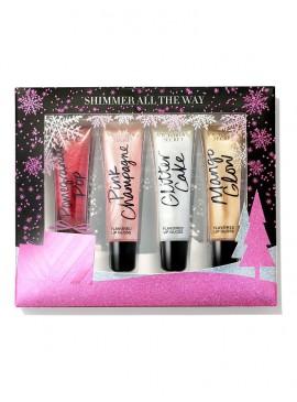 Фото Набор блесков для губ Holiday Shimmer Lip от Victoria's Secret