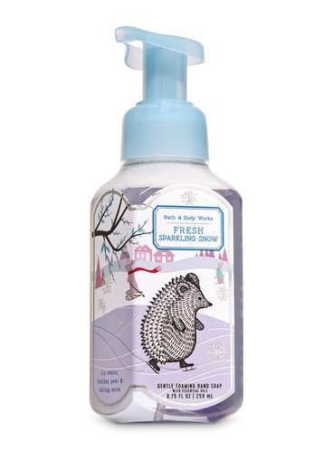 Пенящееся мыло для рук Bath and Body Works - Fresh Sparkling Snow