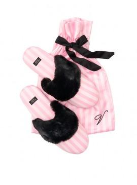 Фото Мягенькие тапочки от Victoria's Secret + мешочек в подарок