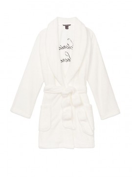 Фото Плюшевый халат Plush Logo от Victoria's Secret - Ivory