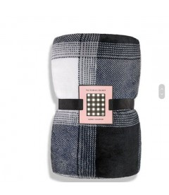 Тёплый мягенький плед от Victoria's Secret PINK - Black