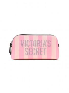Фото Стильная косметичка Signature Stripe от Victoria's Secret