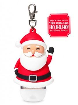 Фото 2в1 Чехол + брелок Noise Making Santa от Bath and Body Works