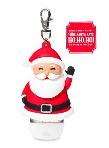 2в1 Чехол + брелок Noise Making Santa от Bath and Body Works