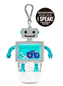 Фото 2в1 Чехол + брелок Noise Making Robo Rob от Bath and Body Works