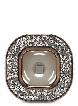 Фото Держатель для ароматизатора от Bath and Body Works - Black Glitter Square