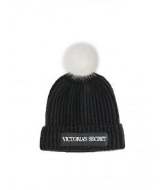 Стильная шапка от Victoria's Secret - Logo Black