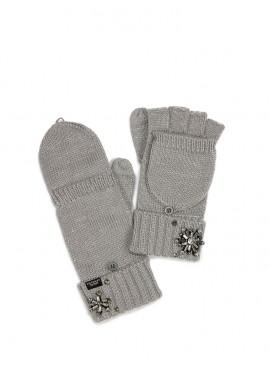 Фото Варежки Convertible Mittens от Victoria's Secret - Gray