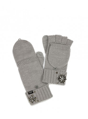 Варежки Convertible Mittens от Victoria's Secret - Gray