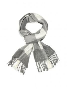 Фото Тёплый шарф от Victoria's Secret - White & Gray