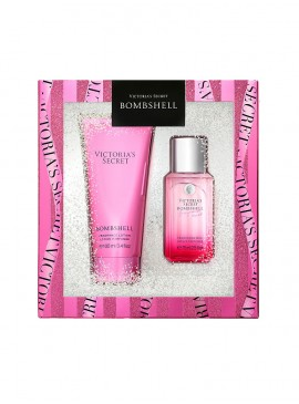 Фото Набор косметики от Victoria's Secret Bombshell в подарочной коробке