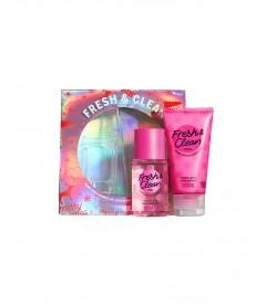 Набор косметики из серии Victoria's Secret PINK - Fresh & Clean