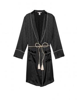 Фото Роскошный халат Tassel-Tie Robe от Victoria's Secret - Pure Black