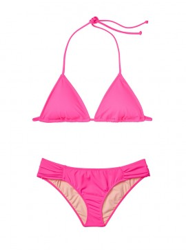 Фото NEW! Стильный купальник Triangle от Victoria's Secret - Shocking Pink