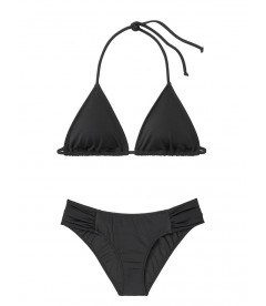 NEW! Стильный купальник Triangle от Victoria's Secret - Black