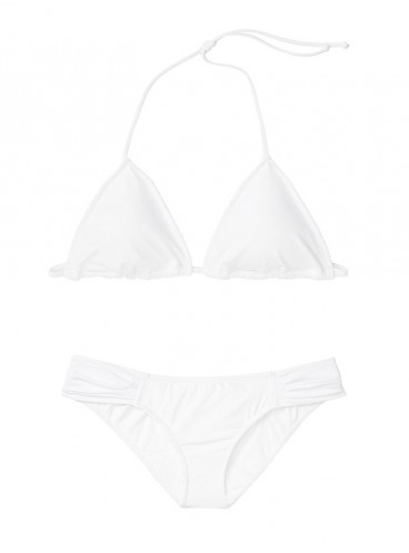 NEW! Стильный купальник Triangle от Victoria's Secret - White