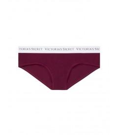 Хлопковые трусики-бикини Victoria's Secret из коллекции Cotton Logo - Kir