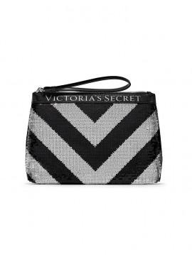 Фото Стильный клатч Sparkle от Victoria's Secret - Silver Black