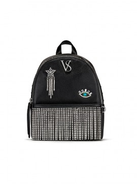 Фото Стильный мини-рюкзачок Victoria's Secret - Black Silver