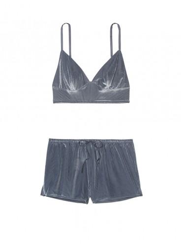 Пижамка Velvet Cami & Short от Victoria's Secret - Black Pearl