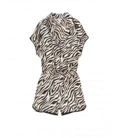 Сатиновый ромпер от Victoria's Secret - Champagne Zebra