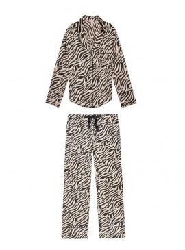 Фото Сатиновая пижама от Victoria's Secret - Champagne Zebra