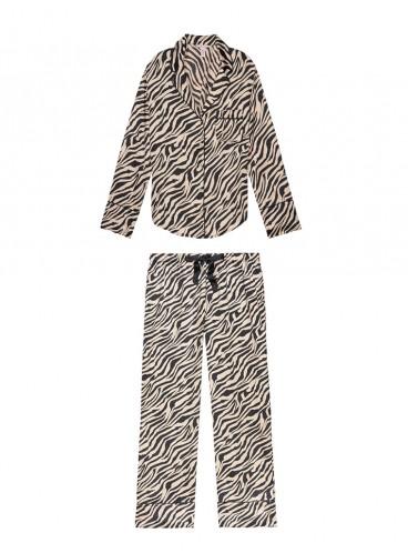 Сатиновая пижама от Victoria's Secret - Champagne Zebra