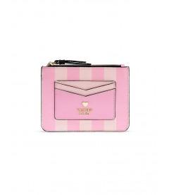 NEW! Стильный картхолдер от Victoria's Secret - Pink Stripe