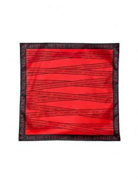 Фото Шикарный шарф от Victoria's Secret - Black Logo