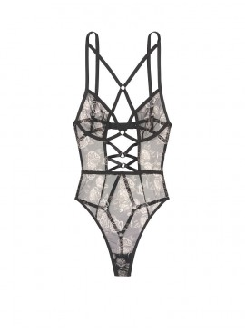 Фото Секси-боди Rose & Ring Triangle Teddy от Victoria's Secret - Black
