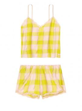 Фото Пижамка из коллекции Flannel Sleep от Victoria's Secret - Yellow Shimmer Plaid