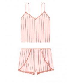 Пижамка из коллекции Flannel Sleep от Victoria's Secret - Pink Classic Lurex Stripe