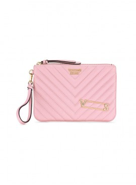 Фото Стильный клатч Embellished V-Quilt от Victoria's Secret - Pink